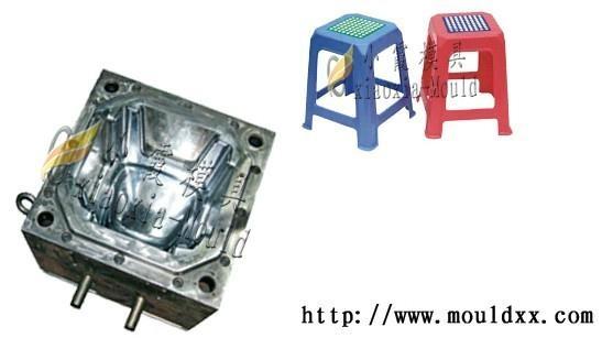 加工塑膠凳子模具 4
