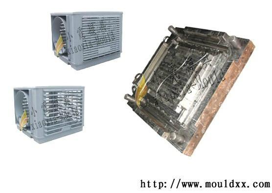 冷風機塑料模具 2