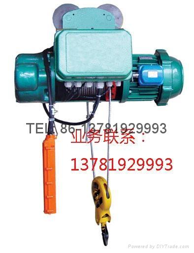 model cd1 electric hoists 1