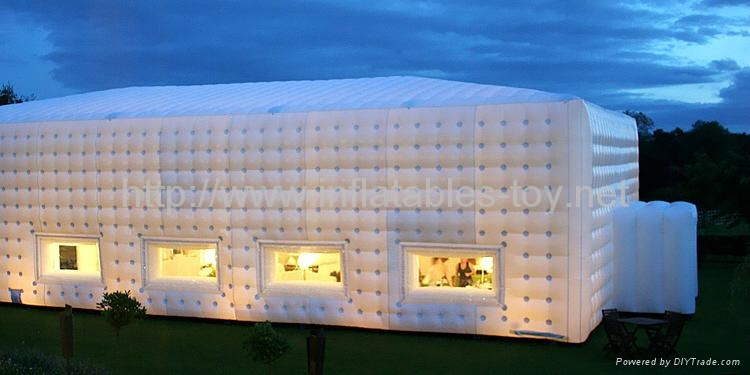Inflatable Wedding Tent, Customized Inflatable Cube Tent 8