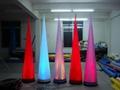 Led light Event Decor Inflatable Tusk,LED Cone Lighting Decorations 10