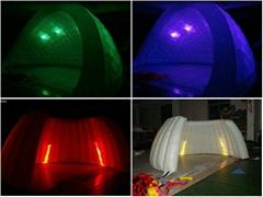event inflatable tent with led light,led lighting decoration tents,lighting tent