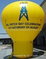 Inflatable Roof Top Balloon, Advertising Ground Balloon 3