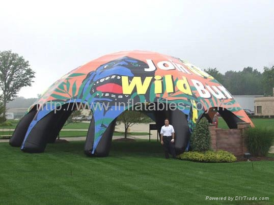 Inflatable Spider Tent, Inflatable Advertising Tent, Inflatable Event Dome Tent 1