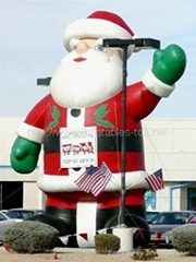 inflatables santa claus for Christmas