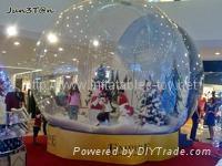 Advertising Inflatable Snow Globe