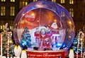 Car Shelter Inflatable Snow Globe