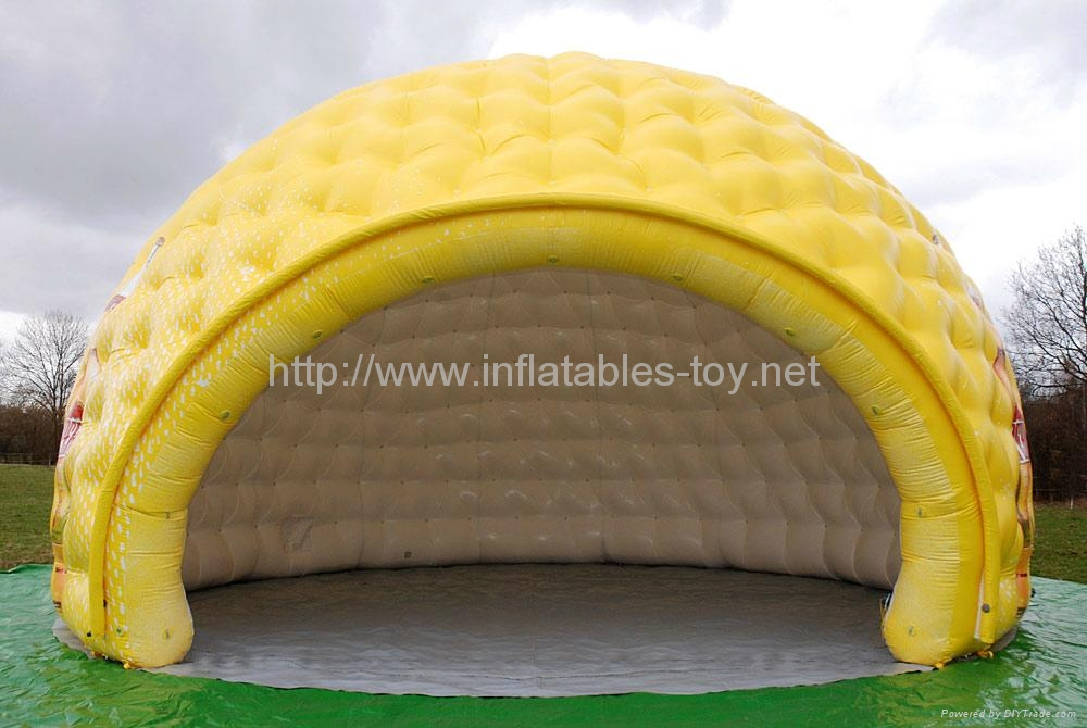 Inflatable Luna White Dome Tent for Exhibition 3
