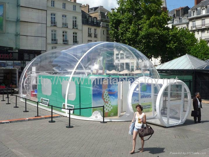 ... transparent PVC inflatable Dome tent for Lawn c&ing ... & Transparent PVC Inflatable Dome Tent for Lawn Camping Airtight ...