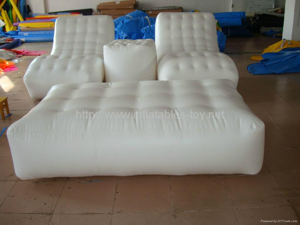 inflatable sofa for outdoor camping dome tent