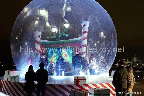 Christmas Snow Globe for Christmas Decoration,Christmas Party and  Event Deco 13