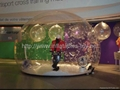 Advertiing Snow Globe with Backdrop