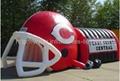 Inflatable Helmet Tunnel,Outdoor Sport Inflatable Tunnel,Large Inflatable Tunnel