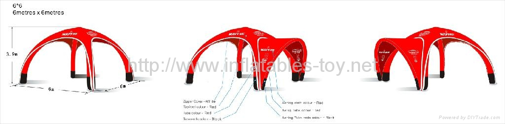 ... Inflatable Event X-gloo Tent ...  sc 1 st  DIYTrade & Trade-Shows Advertising Tent Inflatable Event Tent Promotional X ...