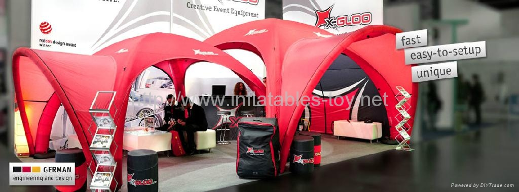 Trade-Shows Advertising Tent, Inflatable Event Tent, Promotional X-gloo Tent 6