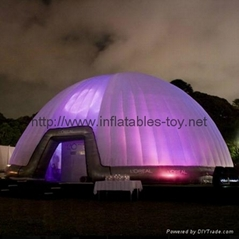 Inflatable Lighting Tents