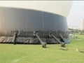 Large Outdoor Inflatable White Portable Projection Dome for Planetarium Show 6