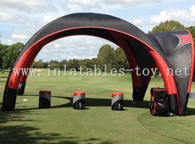 Inflatable X-gloo Tent