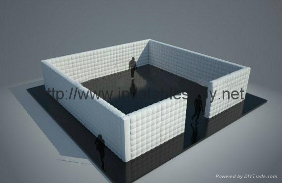 Inflatable Cube Wall Office in a Bag, Inflatable Wall, Air Wall Inflatables 1