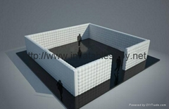 Inflatable Cube Wall Office in a Bag, Inflatable Wall, Air Wall Inflatables