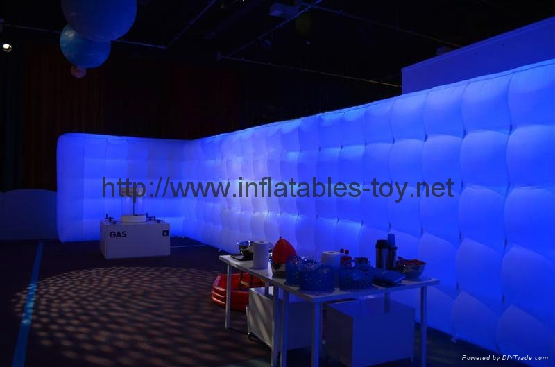 Inflatable Cube Wall Office in a Bag, Inflatable Wall, Air Wall Inflatables 4