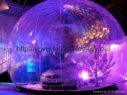 Inflatable Clear Bubble Dome for Car Cover