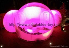 Holiday Inflatables Snow Globe, Inflatable Bubble tent,Inflatable Dome