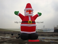 inflatable santa(inflable santa)outdoor Xmas promotion