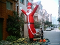 Outdoor Giant Santa Claus, Inflatable