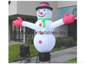 outdoor snow man advertising,inflatable