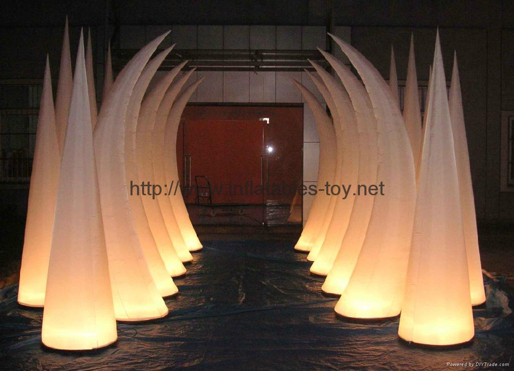inflatable horn event decorate,event party decoration