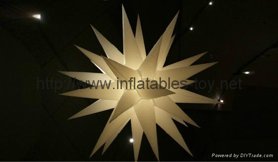 Inflatable Star decoration,stage lighting decorations
