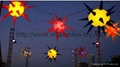 2014 inflatable star with led light