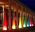 Led light Event Decor Inflatable Tusk,LED Cone Lighting Decorations 9