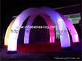 Inflatable Lighting Archway for