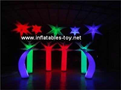Inflatable Lighting Pillar, Running Race Tubes, Inflatable Lighting Cone 4