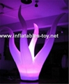 Party Inflatable Flower Decoration, LED Lighting Flower for Wedding Event 6