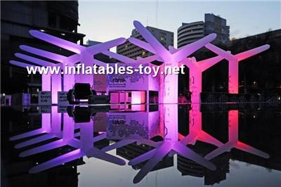 Party Inflatable Flower Decoration,LED Lighting Flower for Wedding Event 9