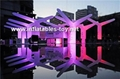 Party Inflatable Flower Decoration, LED Lighting Flower for Wedding Event 9