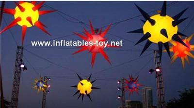 Popular Lighting Inflatable Decorations