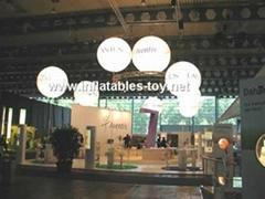 Lighted Balloon Decoration