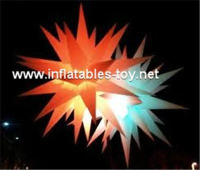 illuminated led star,stage lighting decorations,event lighting decoration