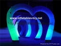 Inflatable Wedding Arch Decoration with LED Light,LED Lighting Archway 1
