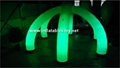 Inflatable Wedding Arch Decoration with LED Light,LED Lighting Archway 2