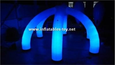 Inflatable Wedding Arch Decoration with LED Light,LED Lighting Archway 3