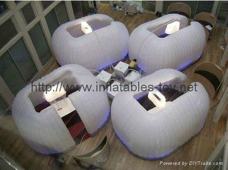 Inflatable Office Tent for Trading Show Advertising, Air Wall Tent 2