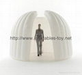 Inflatable Office Tent for Trading Show Advertising, Air Wall Tent 3