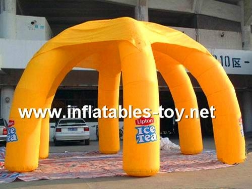 Inflatable Spider Tent, Inflatable Advertising Tent, Inflatable Event Dome Tent 8