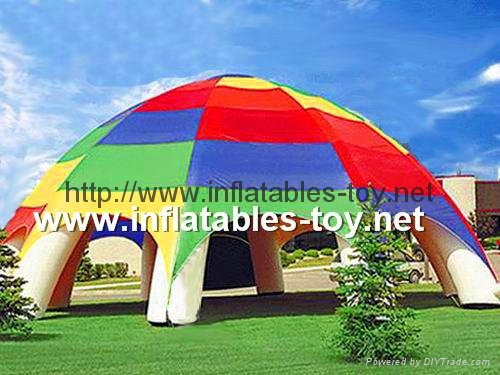 Inflatable Spider Tent, Inflatable Advertising Tent, Inflatable Event Dome Tent 13