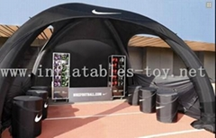 X-gloo Tents, Inflatable X Shape Tent for Trade Show, Advertising Tent